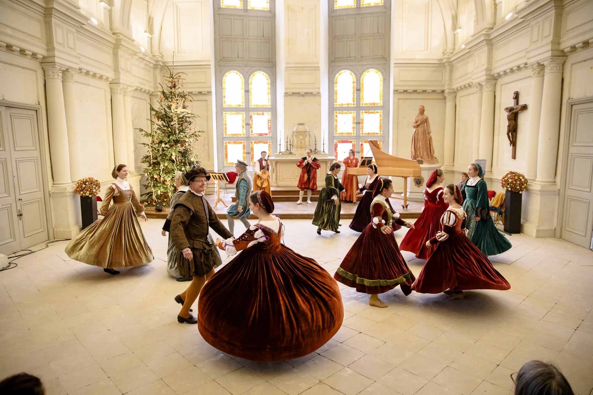 Christmas activities in the Château of Chambord