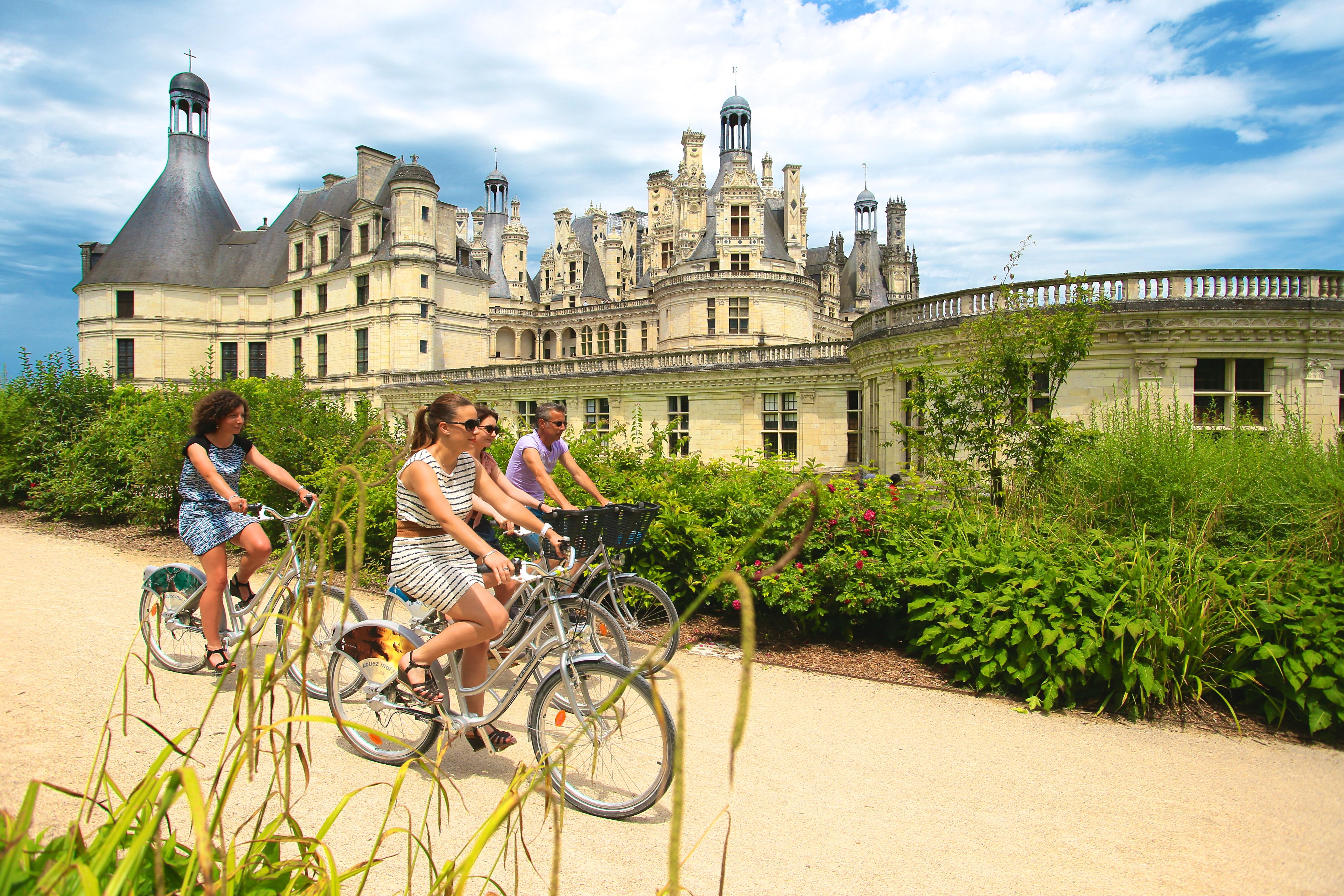 Circuits cyclotouristiques à Chambord