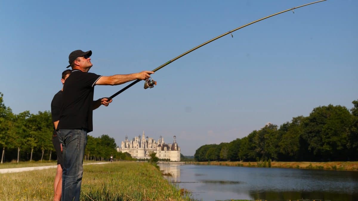 Fishing in Chambord